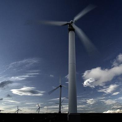Ovenden Moor Windmills in motion 3 by Carljorgensen