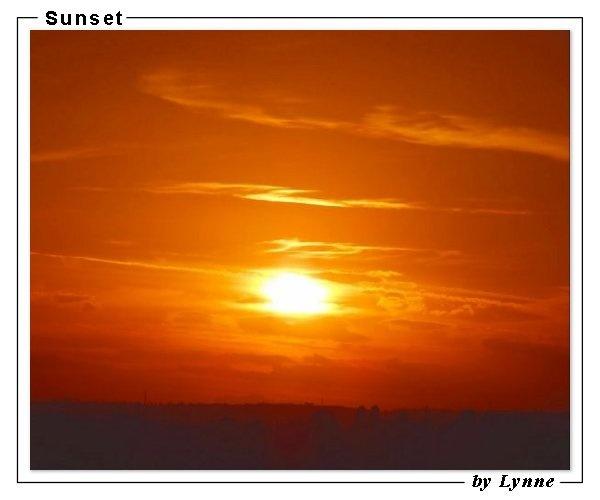 \'Sunset\' by Lynne by REDWOLF