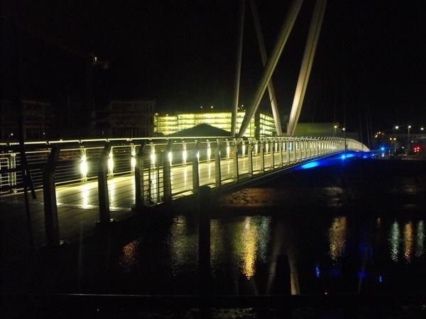 newport dock  bridge by kazzy1963