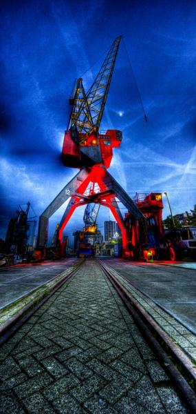 Twilight Docks by auroraepc