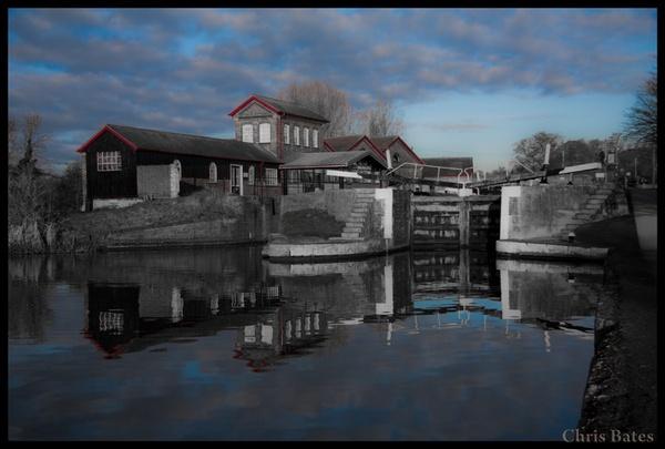 Hatton Locks by heliflyer