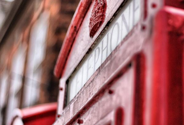 HDR British Telephone box by Radders3107
