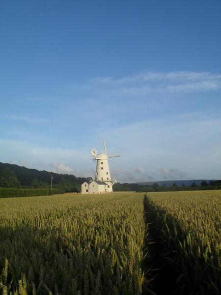 Llancayo windmill by minimitch