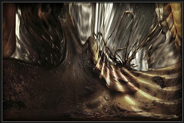 Strange Cave by Morpyre