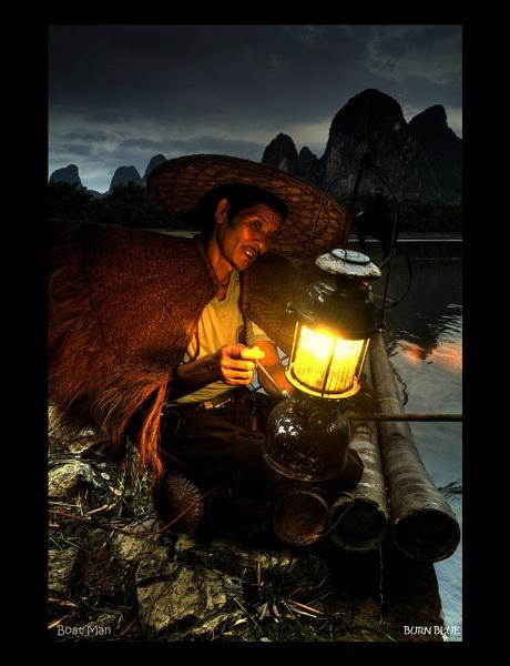 Boatman by BURNBLUE
