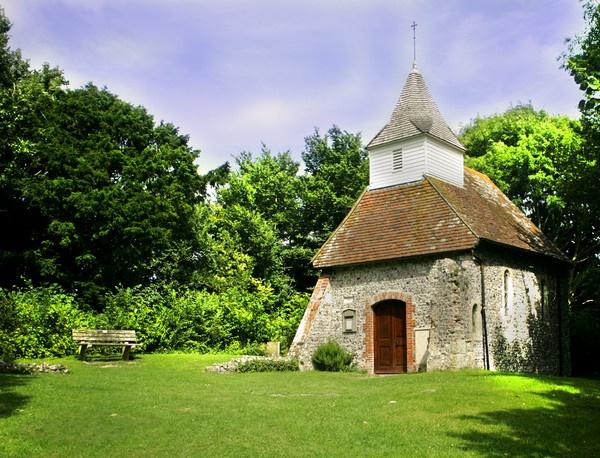 Lullington Church by ENGLISHSKIN