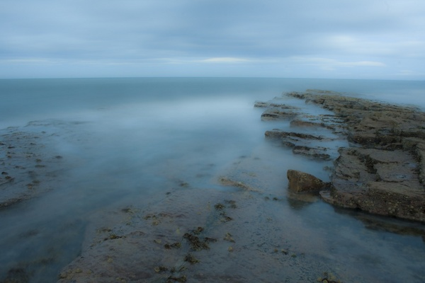 Evening Tide at Crail by 66dougie