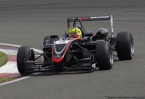 Renger van der Zande F3 by motorsportpictures