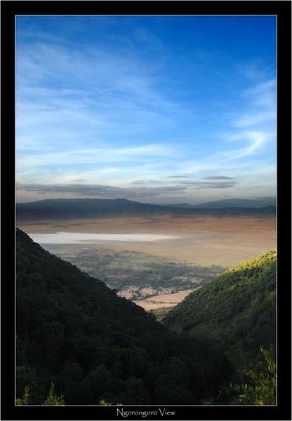 Ngorongoro View by JoshCunliffe