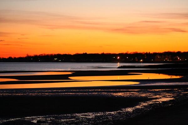 Silversands golden sunset by msmphoto