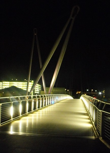 footbridge by kazzy1963