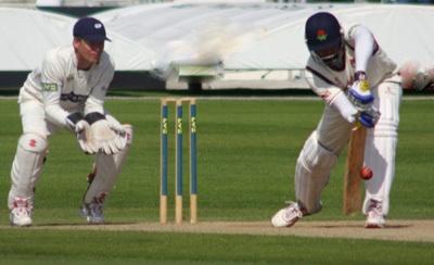 VVS Laxman in action at Headingley by Rob_McG