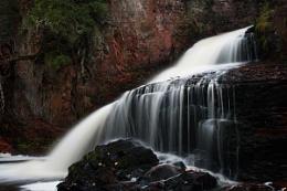 Kadunce River Waterfall