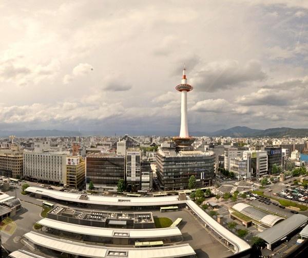 Kyoto Tower Panorama by bwillik