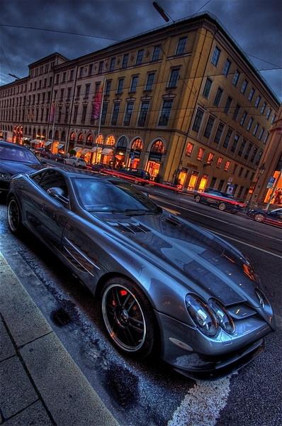 Mercedes McLaren SLR, Munich by bwillik