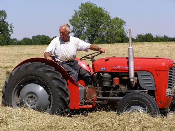 Retro Haymaking by lindah303