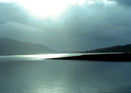 Light over Kyle of Loch Alsh