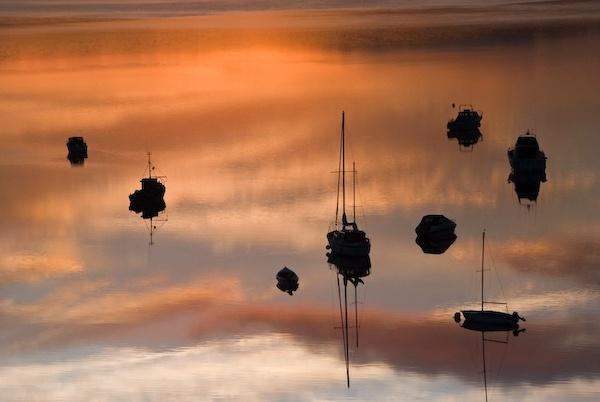 Boats at Dawn by irishman