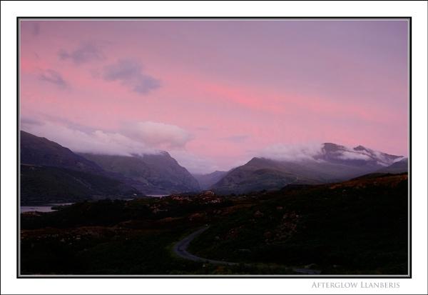Afterglow Llanberis... by Scottishlandscapes