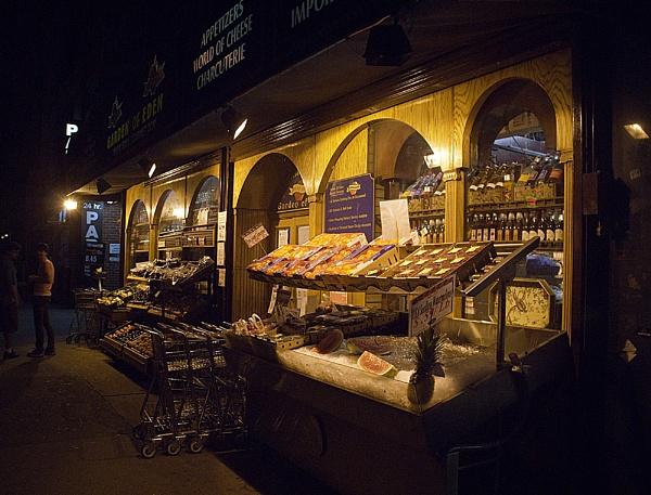 NY City Fruit Stand by gajewski