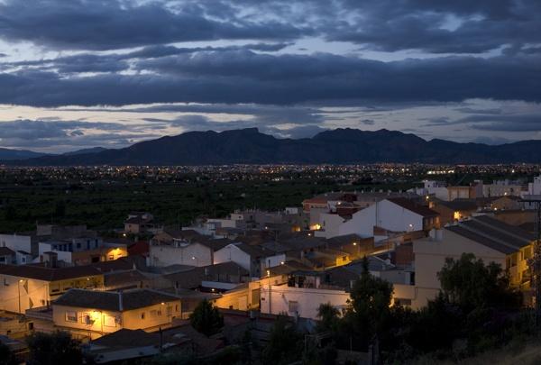Spanish twilight by garnham123