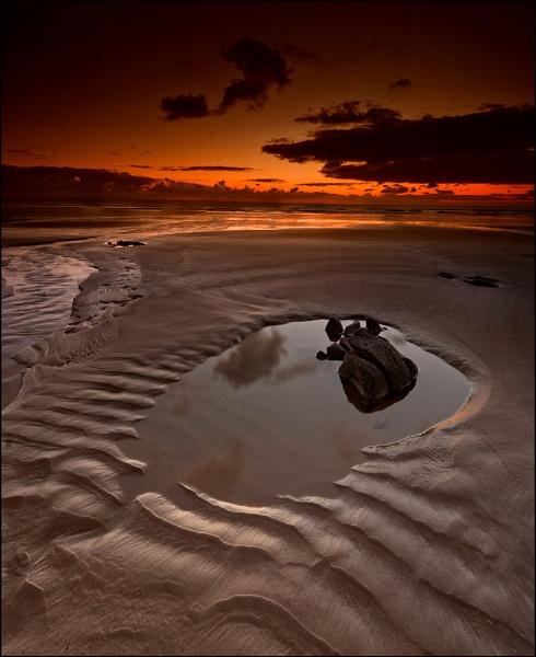 Sand by vulkan