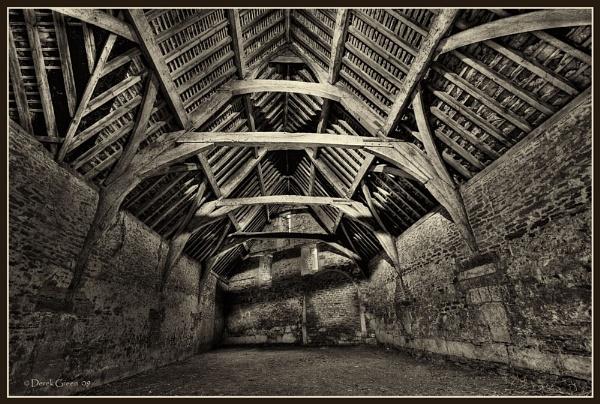 Lacock 14th Century Tithe Barn by OMG