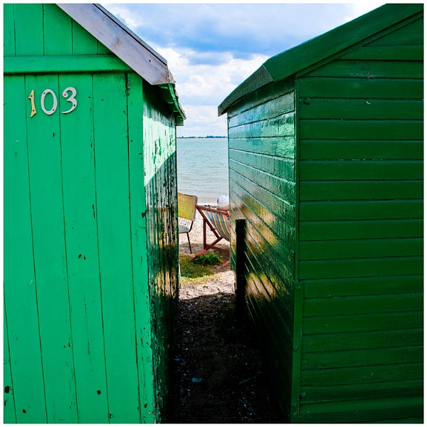beach hut by JBA