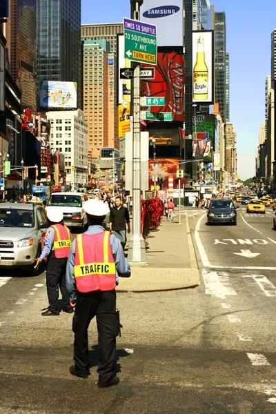 NY traffic by msmphoto