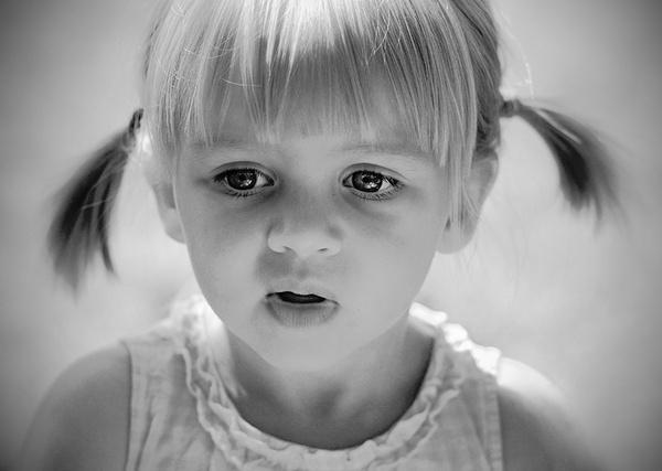 little summer girl by aneta