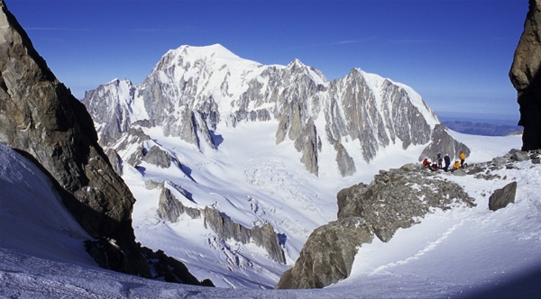 Mont Blanc Massif view by ihana