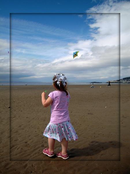 My 1st Kite by grumpalot