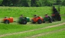 Speeding around the farm