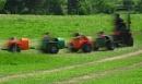 Speeding around the farm