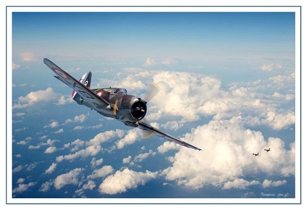 Curtiss Hawk by v8dunc