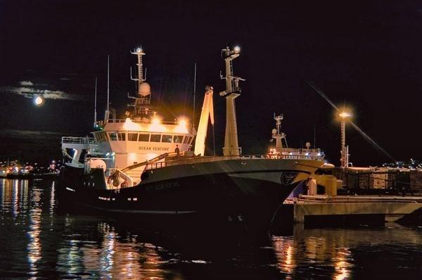 Ocean Venture Landing Mackerel by gazb159
