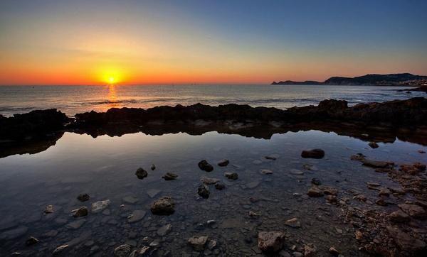 Javea Sunrise by steve_kershaw