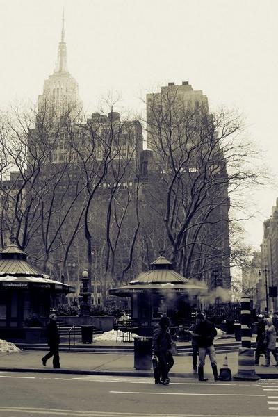 winter street scene by msmphoto