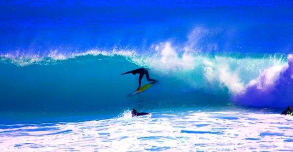 Llundudno Surfer by Fritz_Schoultz