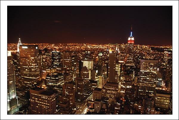 Manhattan At Night by dans107