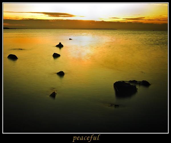 peaceful by dazloz