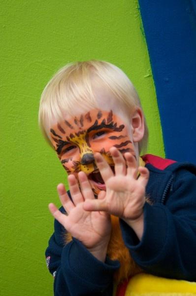 Tiger Face by itspooch
