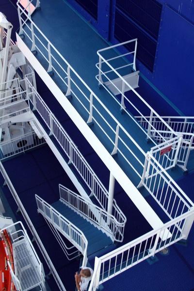 Deck of MV AMORIQUE by simonjr