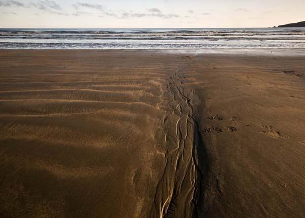 Beach abstract 2 by tezmarsden
