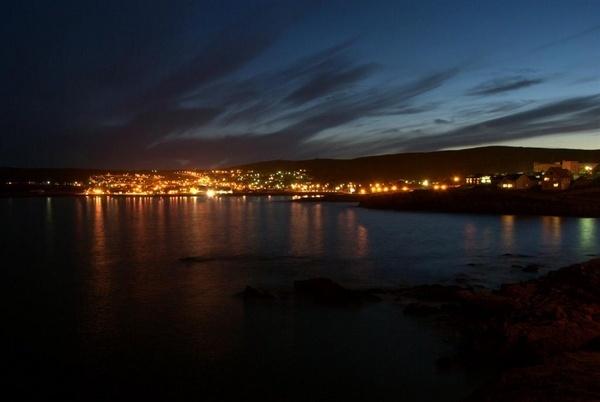 South Lerwick Night Shot by gazb159