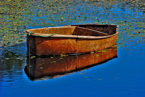 The old boat by BERTRAM
