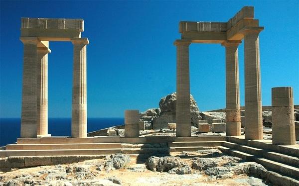 Acropolis Rhodes by geoffmilner
