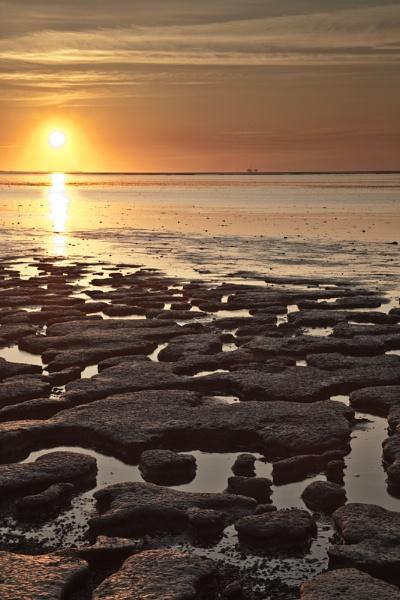 Moddergat Sunset III by SGIBBONS