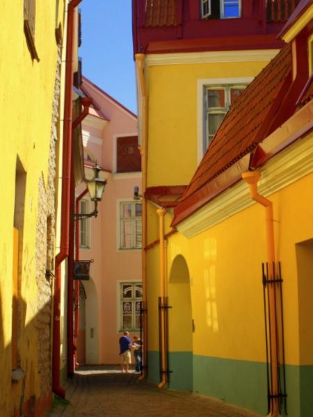 Painted Tallinn by Ginamagnolia