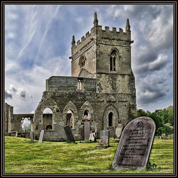 Derelict Church by fentiger